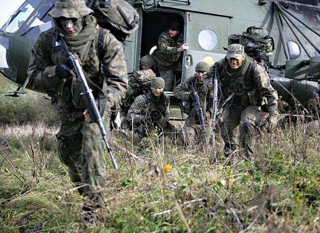 Szkolenie żołnierzy podczas kursu Patrol /Polska Zbrojna