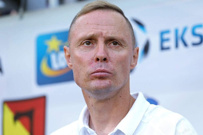 Szkoleniowiec Jagiellonii Białystok Ireneusz Mamrot /Artur Reszko /PAP