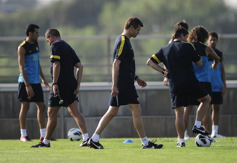 Szkoleniowiec piłkarzy Barcelony Tito Vilanova /AFP