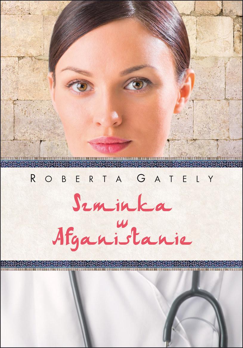 Szminka w Afganistanie /Wydawnictwo Albatros