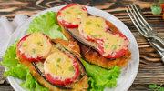 Sznycle zapiekane z bakłażanem i pomidorami