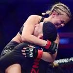 """Szokujące nagranie - była gwiazda UFC """"dusiła"""" żołnierza"""