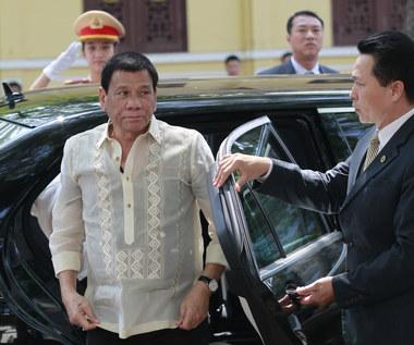 Szokujące słowa prezydenta Filipin