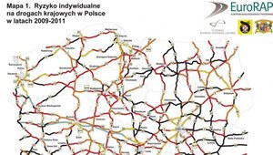 Szokujący raport o polskich drogach. Zobacz mapę czarnych odcinków