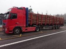 Szokujący stan polskiej ciężarówki. Kierowca wpadł w Czechach