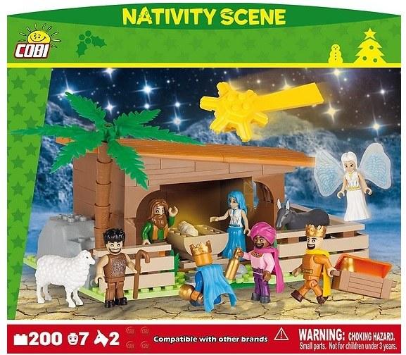 Szopka świąteczna od Cobi /materiały prasowe