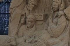 Szopka z piasku stanęła w Gdańsku