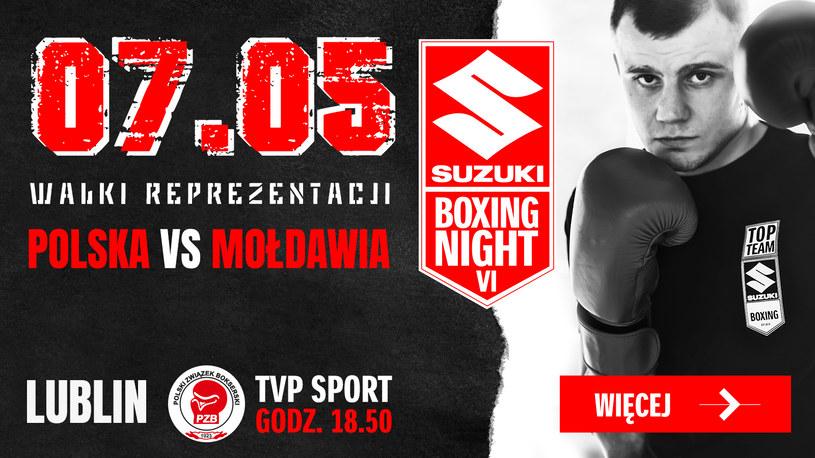 Szósta edycja Suzuki Boxing Night obędzie się już w piątek 7 maja /materiały prasowe /