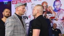"""Szpilka i Różański spojrzeli sobie w oczy. """"Moje argumenty pokażę w ringu"""". Wideo"""