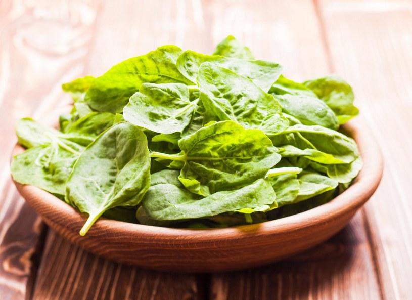 Szpinak to podstawowy element zdrowej, zbilansowanej diety /Picsel /123RF/PICSEL