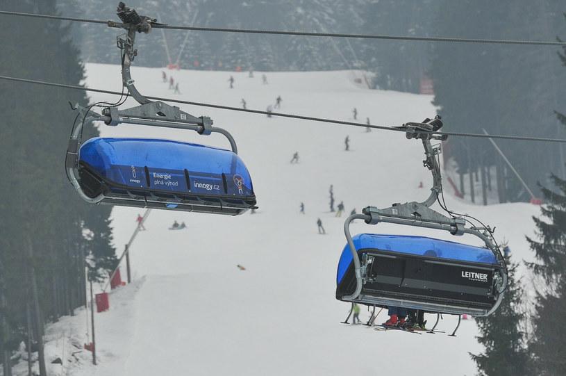 Szpindlerowy Młyn to czeski ośrodek narciarski w pobliżu granicy z Polską, zdjęcie archiwalne z 2018 roku /GERARD/REPORTER /East News