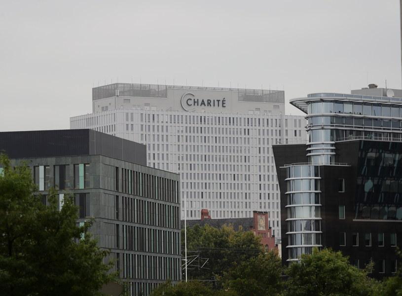 Szpital Charite, gdzie przebywa Aleksiej Nawalny /HAYOUNG JEON /PAP/EPA