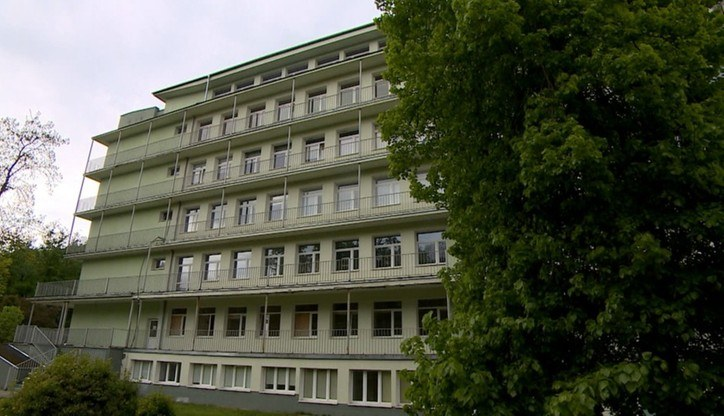 Szpital covidowy w Gdańsku /Polsat News /Polsat News