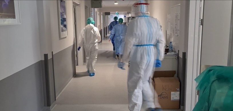 Szpital covidowy w Polsce /Polsat News /Polsat News