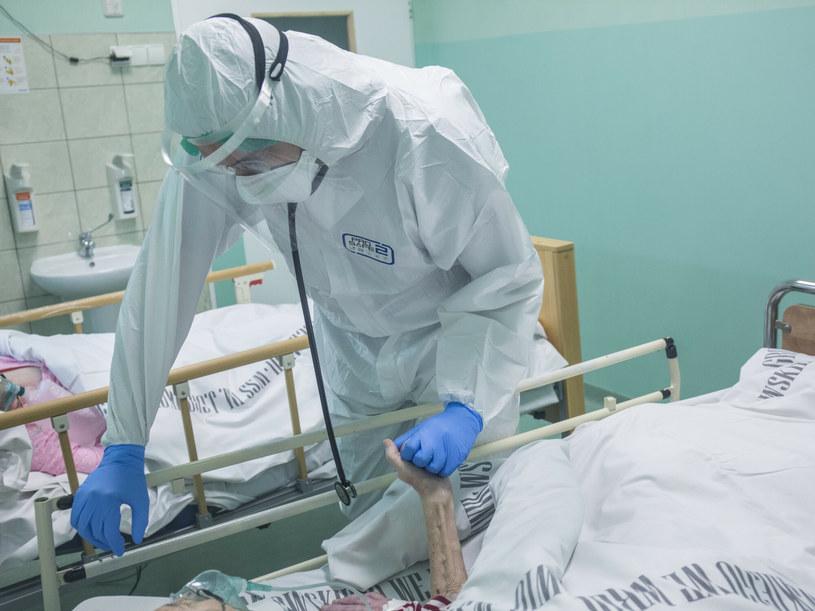 Szpital covidowy, zdjęcie ilustracyjne /MAREK BEREZOWSKI/REPORTER /Reporter