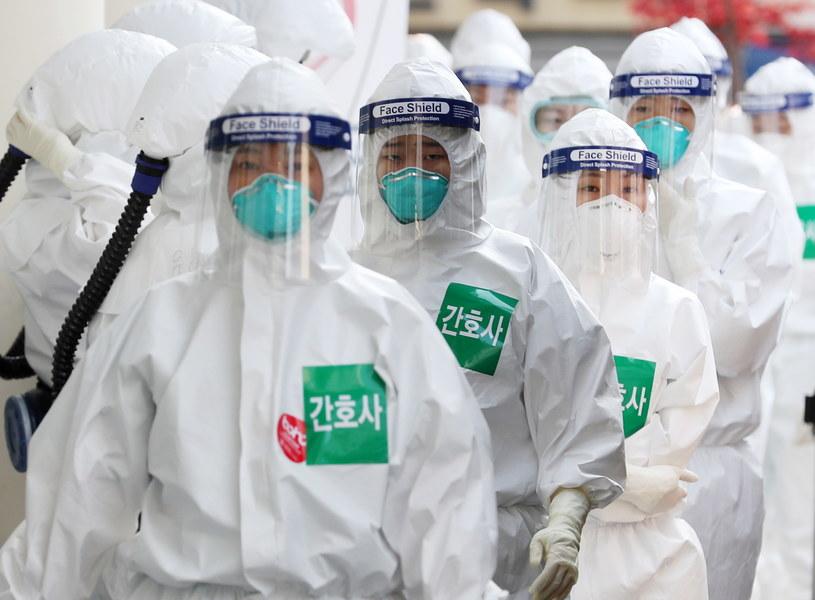 Szpital Dongsan w Daegu, Korea Płd. /EPA