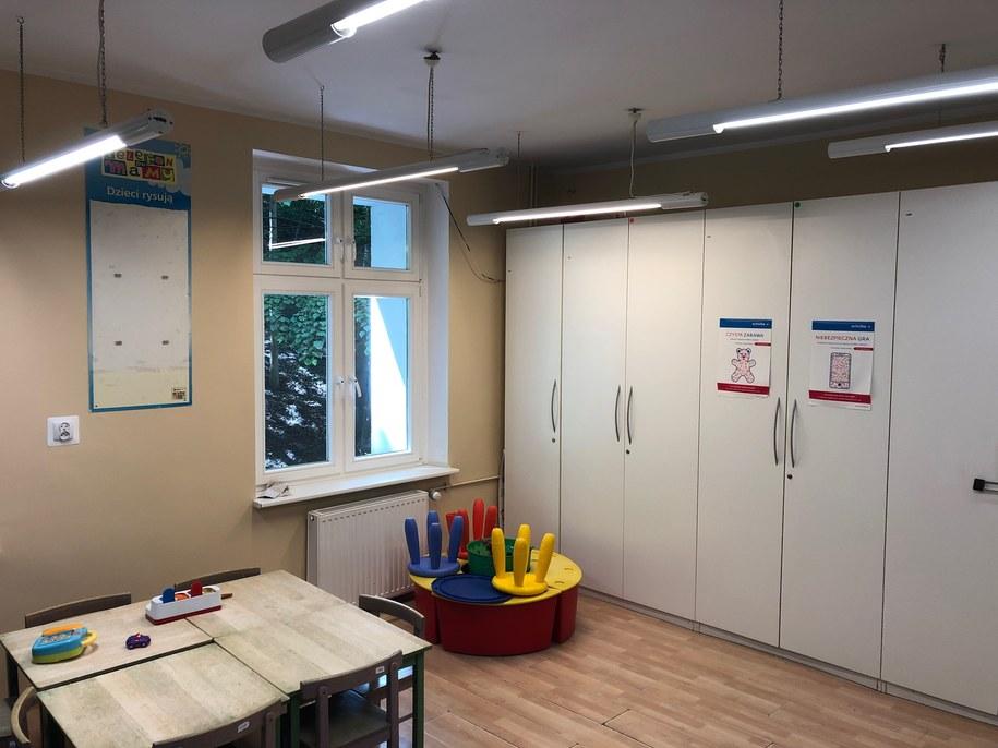 Szpital Dziecięcy Polanki im. Macieja Płażyńskiego w Gdańsku /Kuba Kaługa /RMF FM