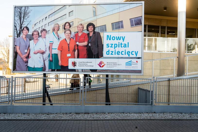 Szpital dziecięcy w Bydgoszczy / Tytus Żmijewski    /PAP