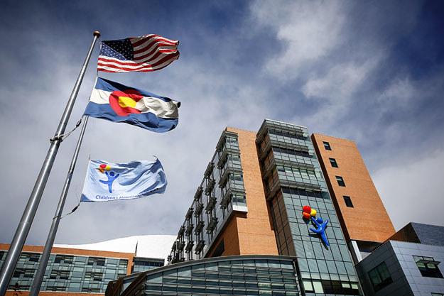 Szpital dziecięcy w Denver fot. Marc Piscotty /AFP