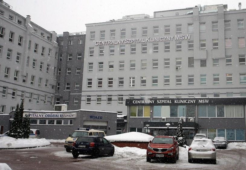 Szpital MSW przy ulicy Wołoskiej w Warszawie /Marcin Smulczyński /Agencja SE/East News