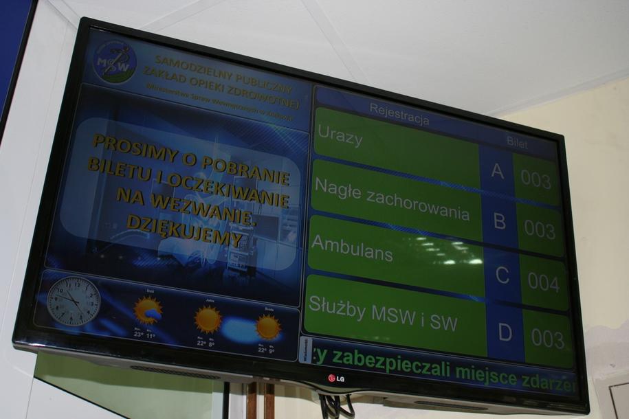 Szpital MSWiA w Krakowie /Marcin Czarnobilski /Grafika RMF FM