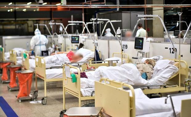 Szpital narodowy zapełniony. Mazowieckie z największą liczbą zakażeń