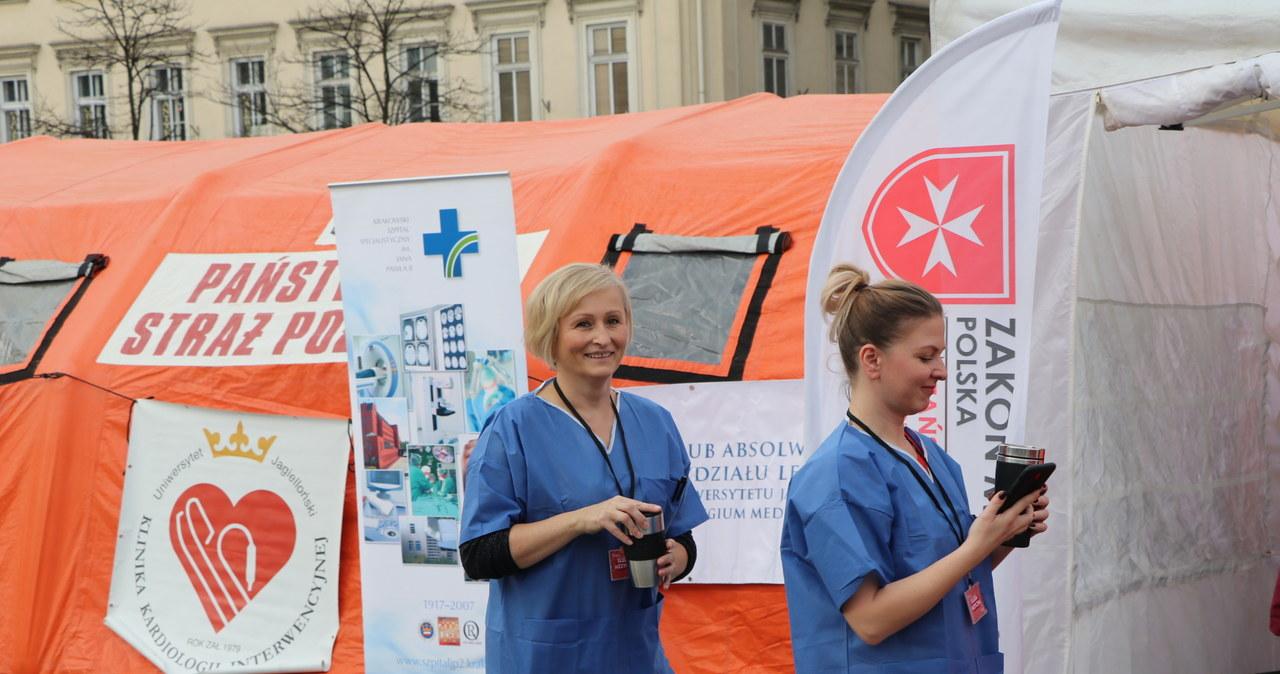 Szpital polowy na Rynku Głównym w Krakowie
