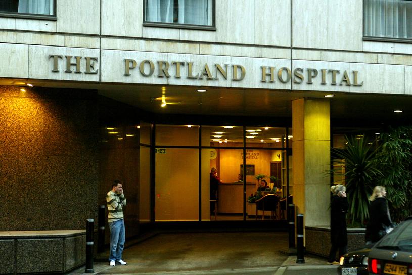 Szpital Portland w Londynie /Dave Hogan /Getty Images