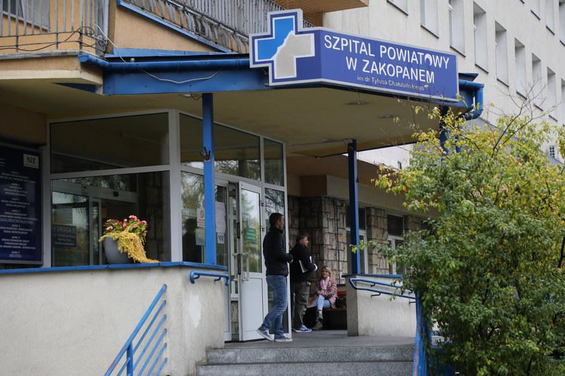 Szpital Powiatowym im. Tytusa Chałubińskiego w Zakopanym, zdjęcie ilustracyjne /Jakub Kaminski/East News /East News