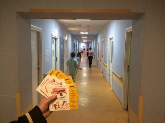 Szpital przy Niekłańskiej w Warszawie /Magdalena Gawlik /RMF FM