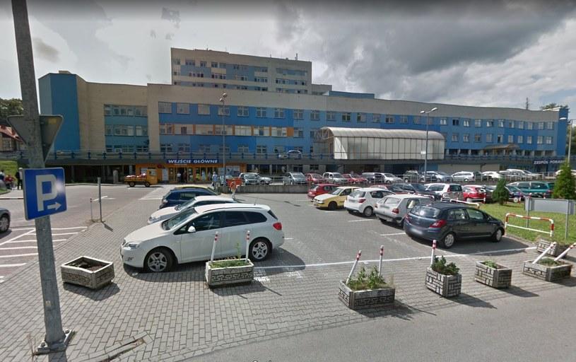 Szpital Śląski w Cieszynie /Google Street View /