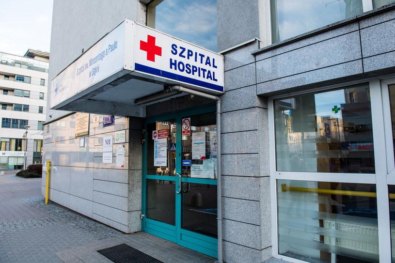 Szpital św. Wincentego a Paulo w Gdyni /MARCIN GADOMSKI/AGENCJA SE /East News
