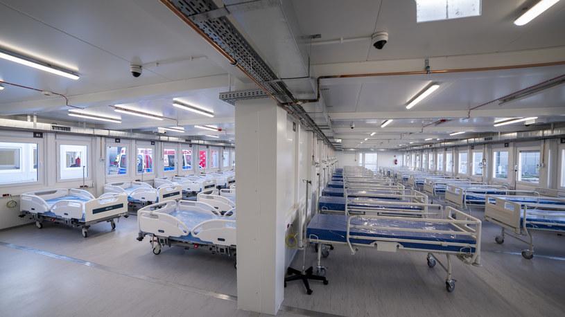 Szpital tymczasowy w Płocku będzie gotowy pod koniec miesiąca /materiały prasowe