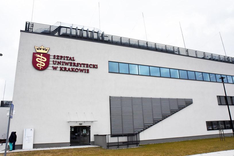 Szpital Uniwersytecki w Krakowie jest jedynym szpitalem jednoimiennym zakaźnym w Małopolsce /M. Lasyk /Reporter