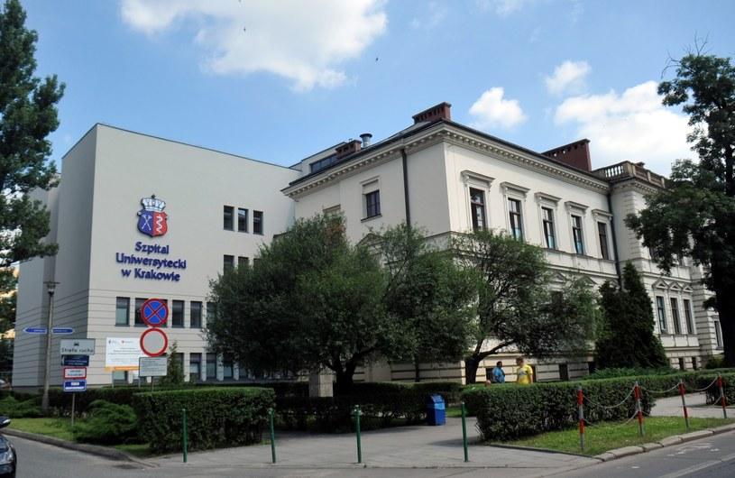 Szpital Uniwersytecki w Krakowie /M. Lasyk /Reporter