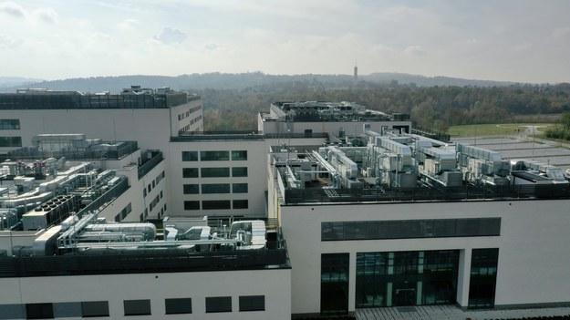 Szpital Uniwersytecki w Krakowie /Jacek Skóra /RMF FM