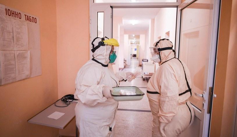 Szpital w Bułgarii, zdjęcie ilustracyjne /NIKOLAY DOYCHINOV  /AFP