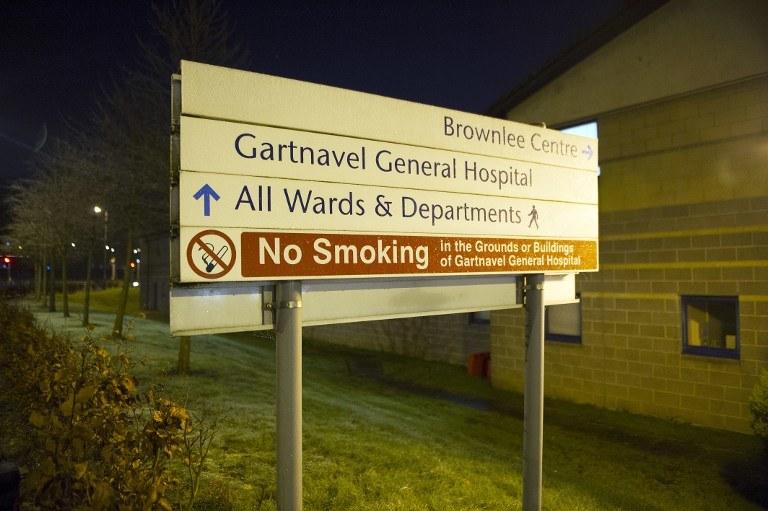 Szpital w Glasgow /AFP