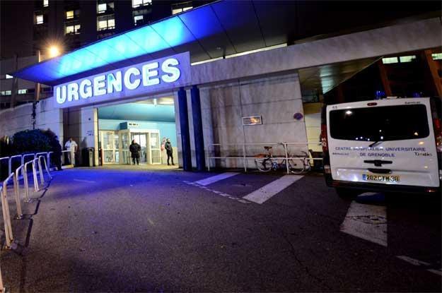 Szpital w Grenoble, w którym o życie walczy Schumacher /AFP