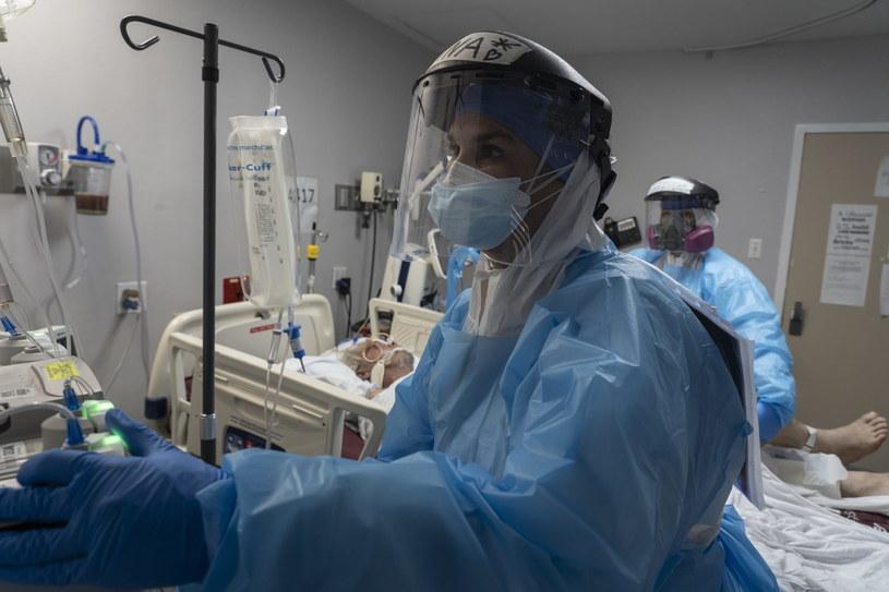 Szpital w Houston w Teksasie /AFP