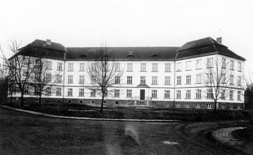 Szpital w Kobierzynie na przedwojennym zdjęciu /Ze zbiorów Narodowego Archiwum Cyfrowego