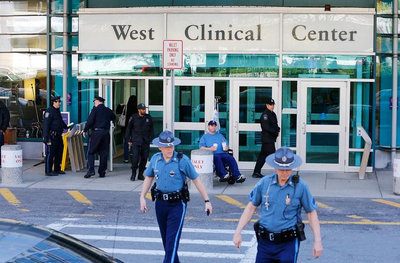 Szpital, w którym przebywa Dżochar Carnajew /AFP
