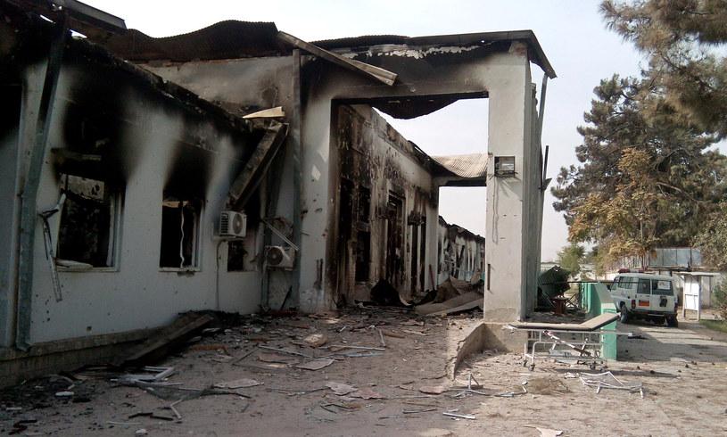Szpital w Kunduzie po bombardowaniu /STR / AFP /AFP