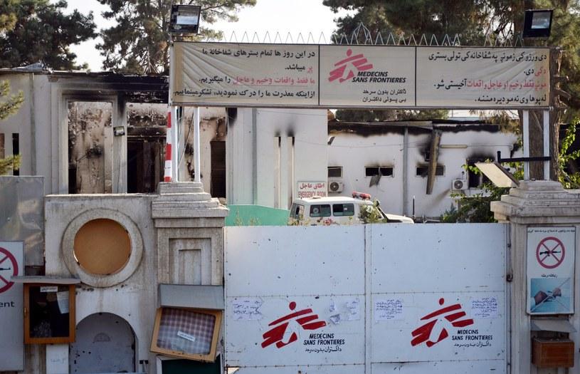 Szpital w Kunduzie został zbombardowany /AFP