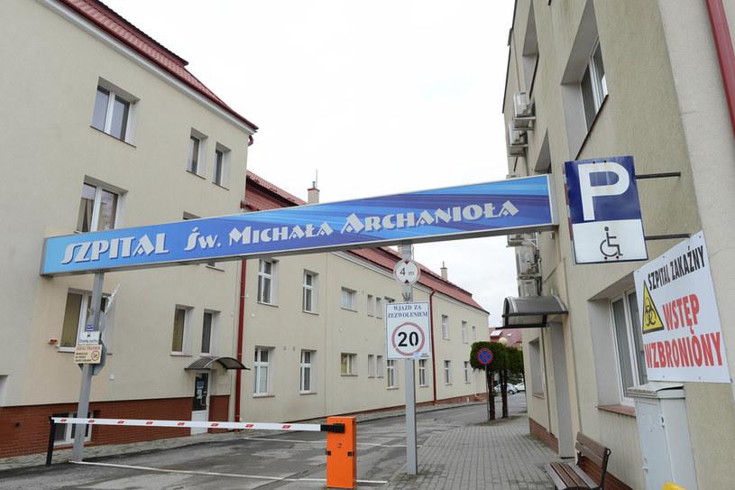 Szpital w Łańcucie /Fot. Grzegorz Lyko / ArtService  /Agencja FORUM