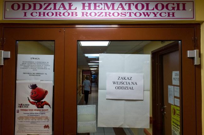 Szpital w Legnicy wprowadził zakaz odwiedzin /Maciej Kulczyński /PAP