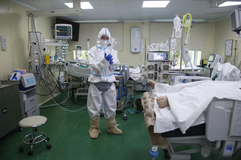 Szpital w Moskwie /AP Photo/Denis Kaminev /East News