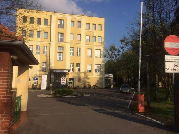 Szpital w Wągrowcu /Mateusz Chłystun /RMF FM