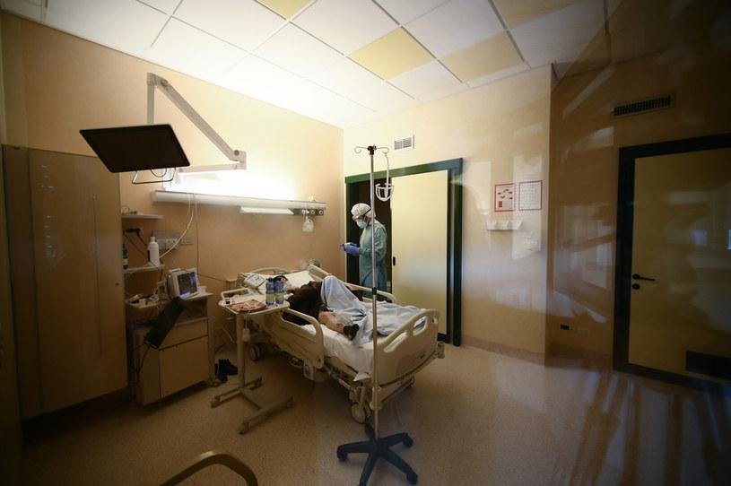 Szpital we Włoszech; zdj. ilustracyjne /AFP