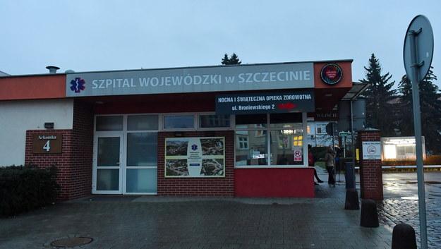 Szpital Wojewódzki w Szczecinie / Marcin Bielecki    /PAP